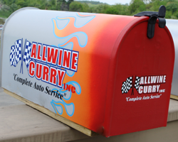 allwine curry mailbox